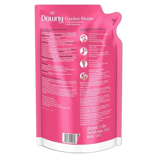 downy fabric softener instructions