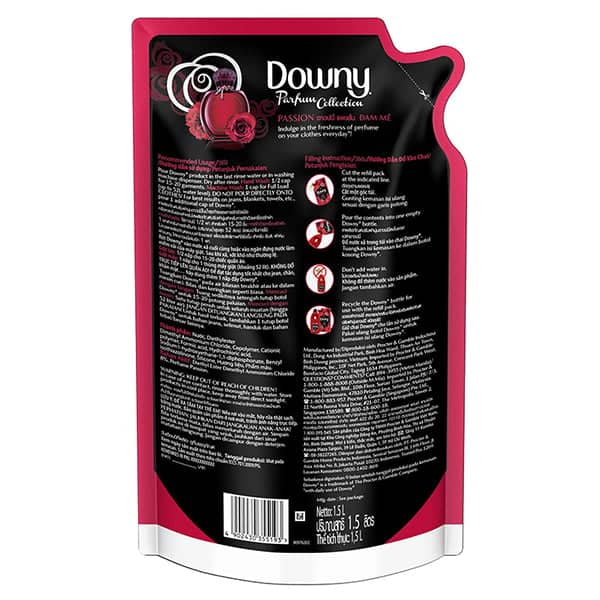 downy fabric softener clumping