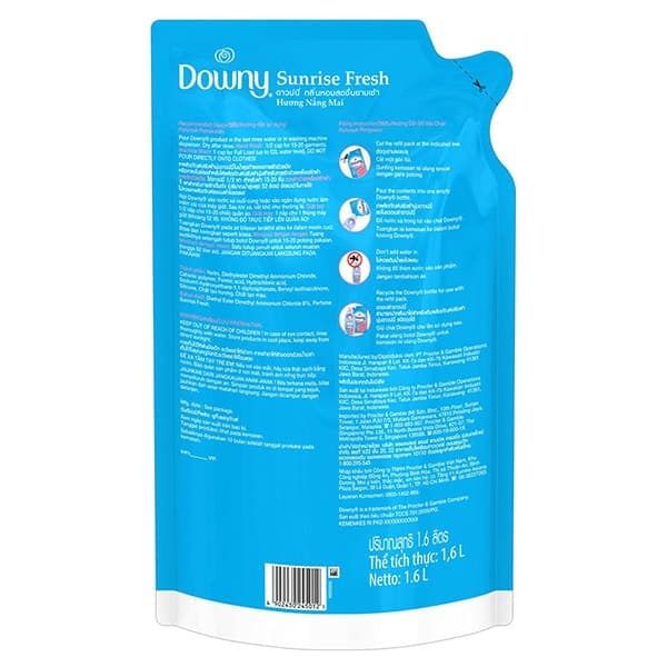 downy fabric softener fragrance free
