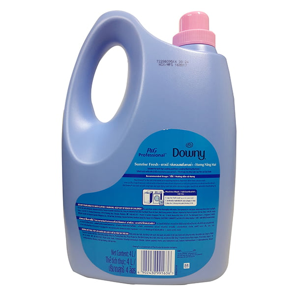 downy fabric softener in hair