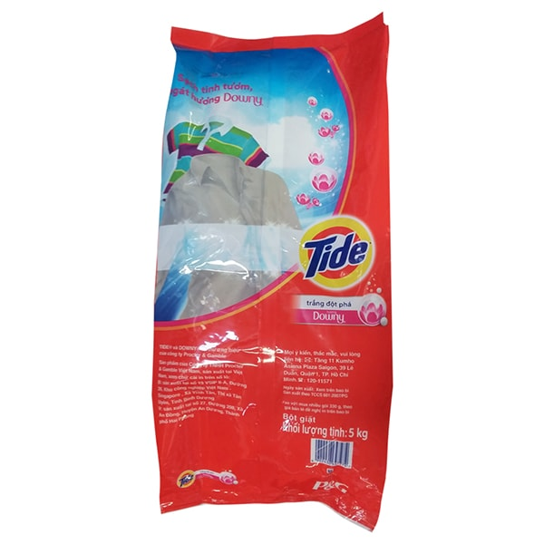 tide with downy powder detergent