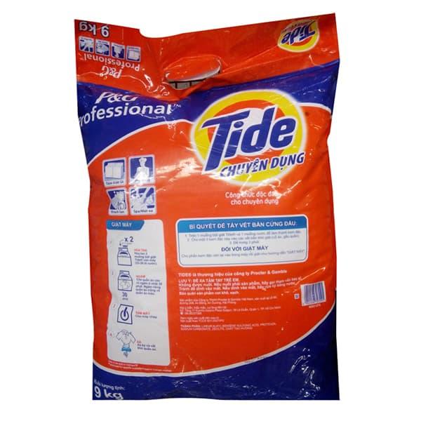 tide detergent msds