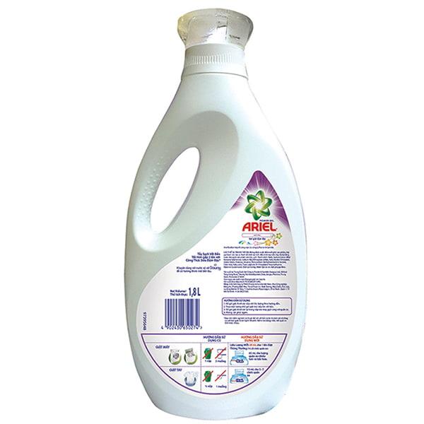 ariel washing liquid advert
