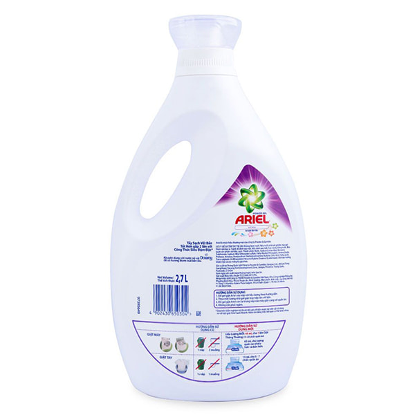 ariel actilift bio washing liquid