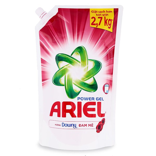 ariel laundry detergent with downy