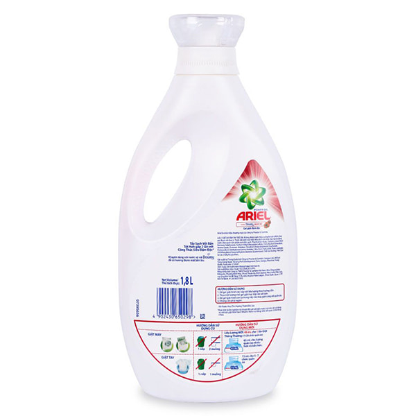 Ariel liquid detergent: Discount Price Reflected, 1 8L Bottle