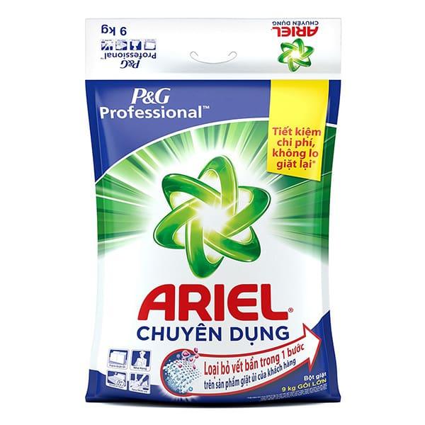 ariel laundry gel