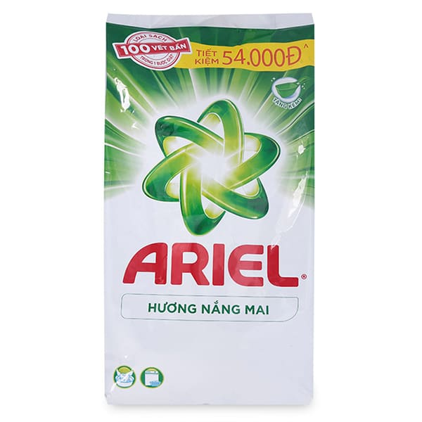 ariel powder or liquid