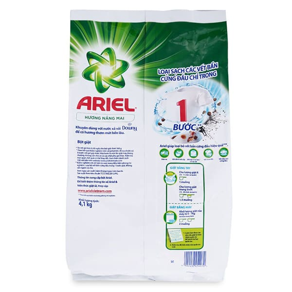 ariel liquid powder