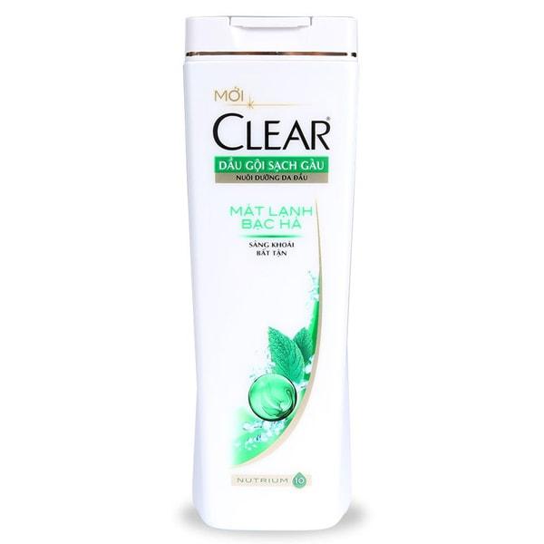 clear cool menthol shampoo