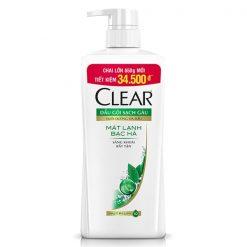 Clear cool sport menthol shampoo