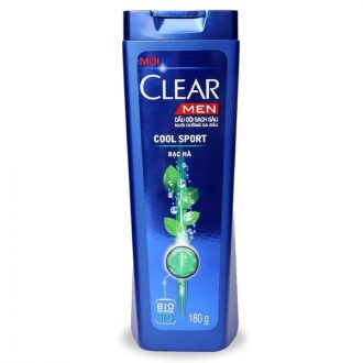 Clear ice cool menthol shampoo