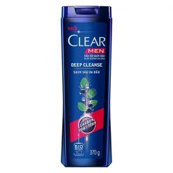 Clear liquid shampoo