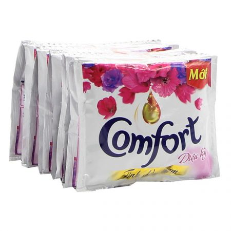 Comfort blue fabric softener