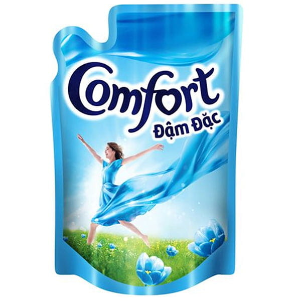 comfort morning fresh fabric conditioner bottle