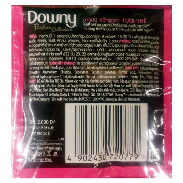 downy ingredients