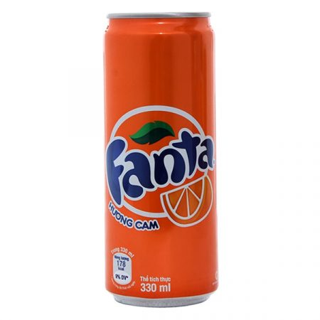 Fanta orange have caffeine