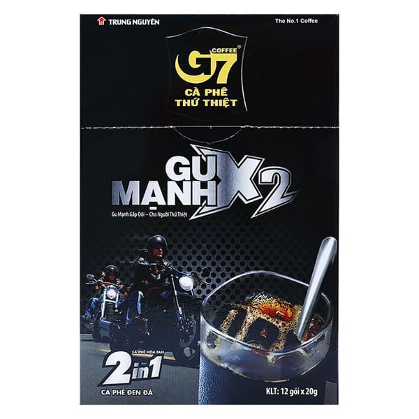 g7 instant coffee caffeine