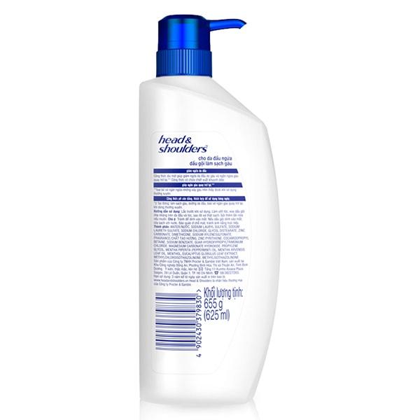 head and shoulder shampoo company