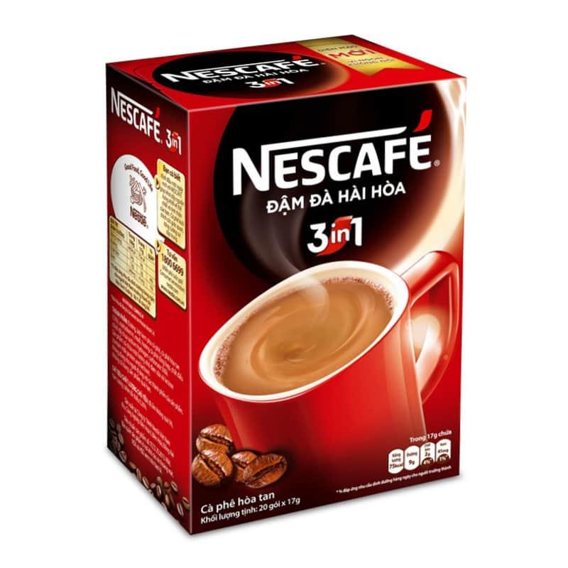 nescafe instant coffee caffeine