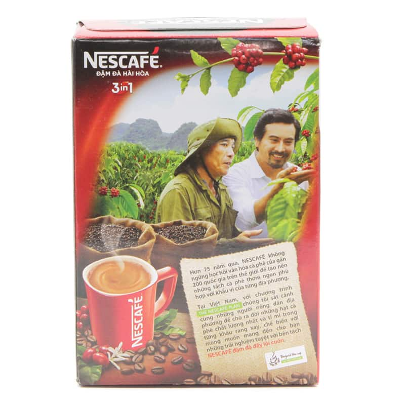nescafe instant coffee packets
