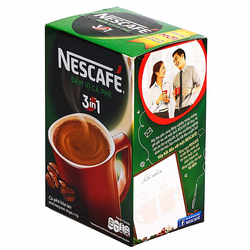 nescafe instant coffee acrylamide