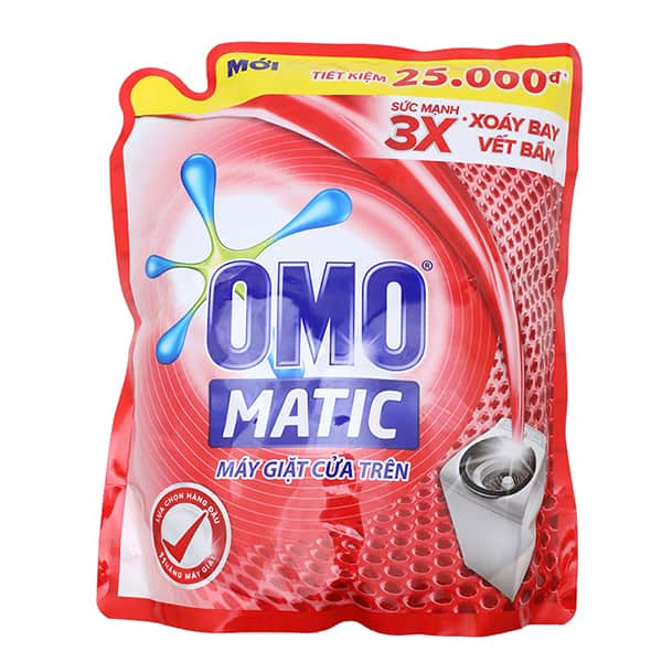 omo sensitive top loader liquid