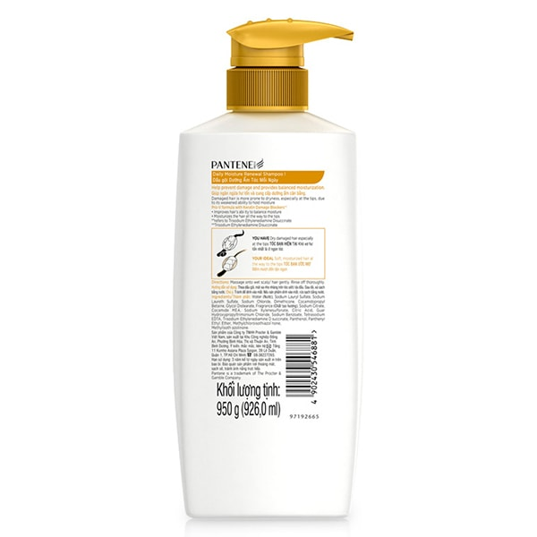 pantene shampoo dream care