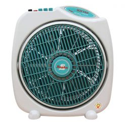 Oscillating stand fan with remote