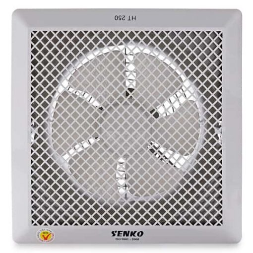 Stand fan with water