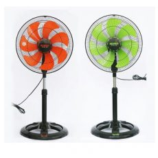 Remote wall mount fan