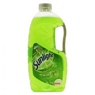 Sunlight lemon dishwashing liquid