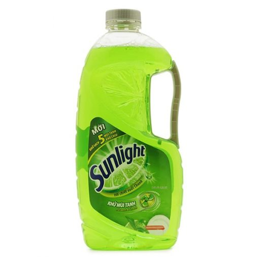 Sunlight lemon dishwashing liquid
