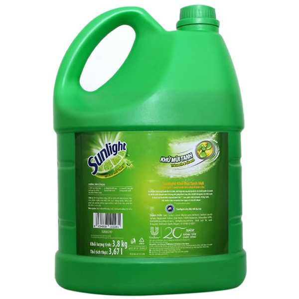 sunlight dishwashing liquid review