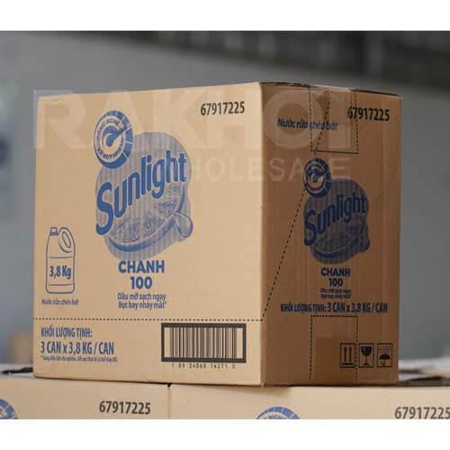 vietnam-sunlight-lemon-dishwashing-3.8kg-03cans-carton
