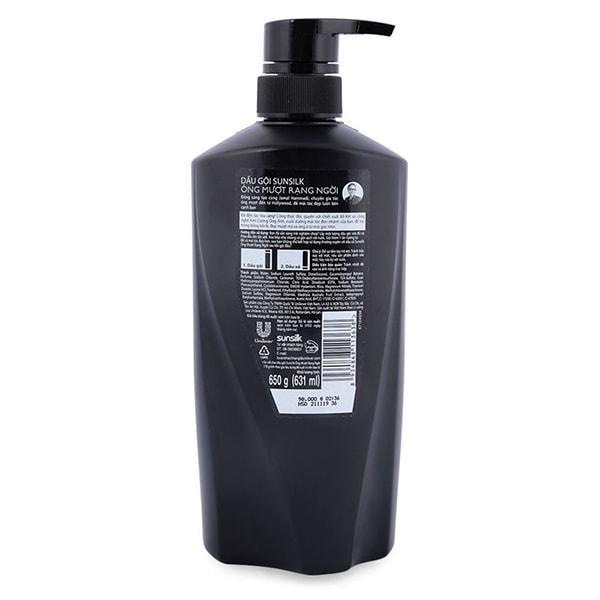 sunsilk shampoo ingredients