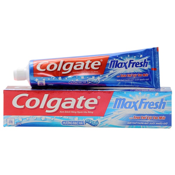 colgate toothpaste red