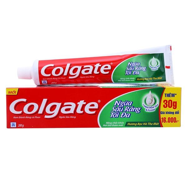 colgate toothpaste statistics