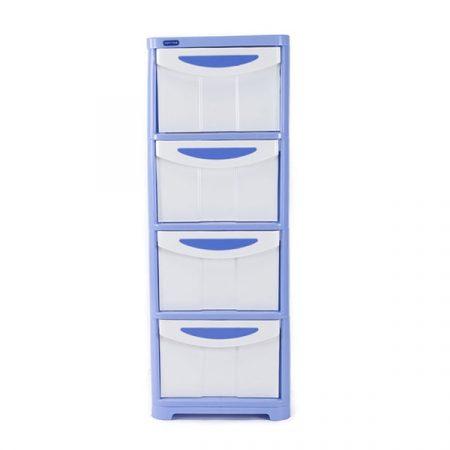 Tủ nhựa duy tân 2 ngan