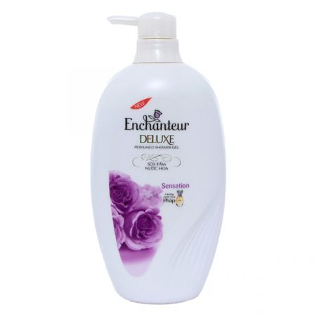 How to use enchanteur shower gel
