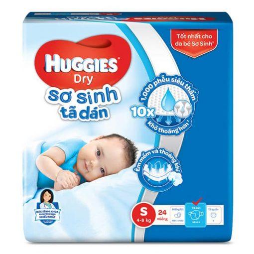 Huggies newborn diapers size