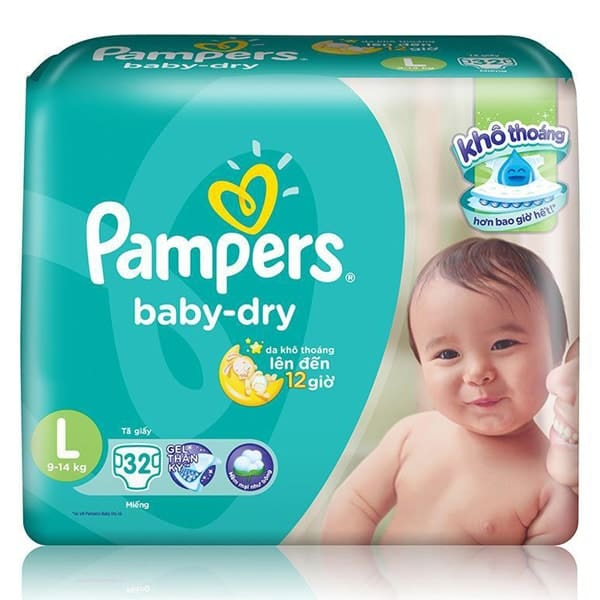 pampers baby dry size chart