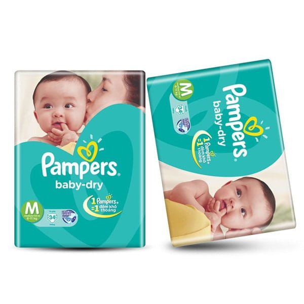 pampers baby dry and swaddlers difference