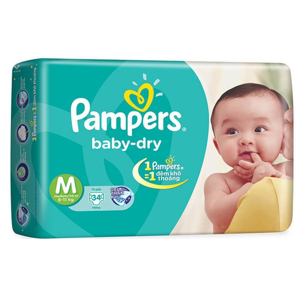 pampers baby dry and swaddlers