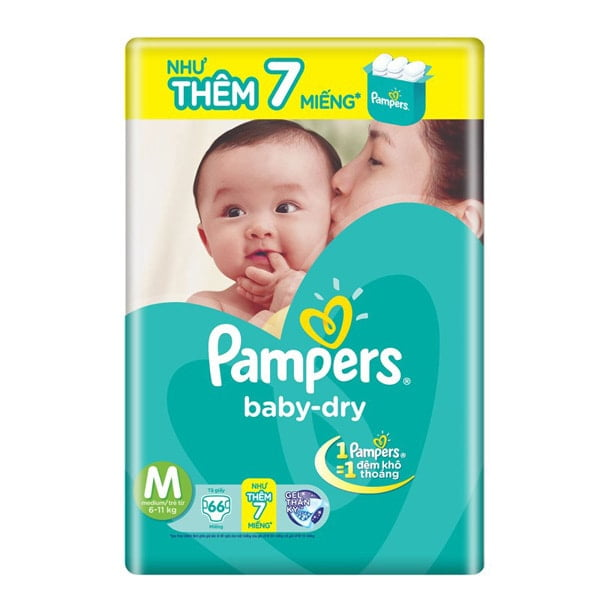 pampers baby dry amazon size 1
