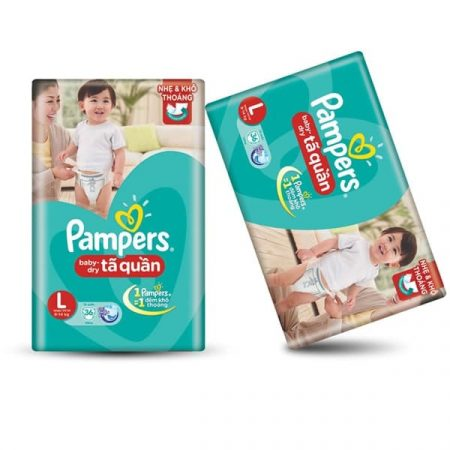 Pampers baby dry pants xxl