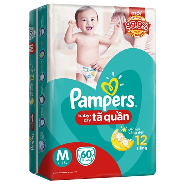 pampers baby dry best price
