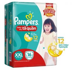 Pampers baby dry pants sizes