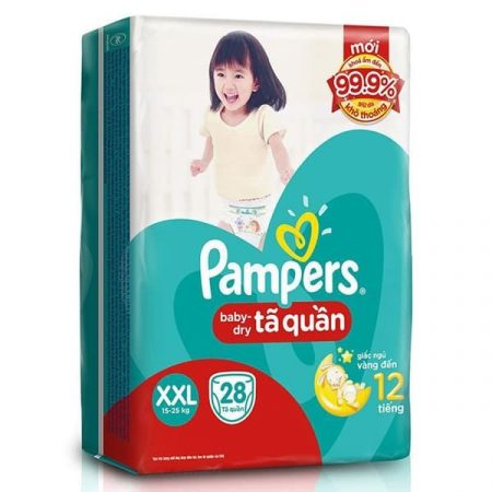 Pampers baby dry pants l