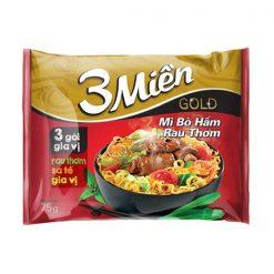 3 Mien Gold Special Spicy Sour Shirmp Flavor